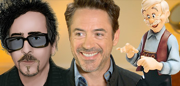 Robert Downey Jr / Pinocchio