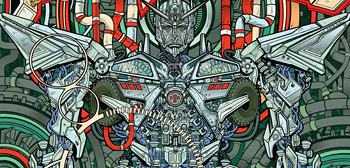 Mondo Transformers Poster
