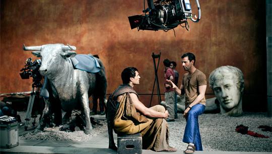 Immortals - Tarsem & Henry Cavill on Set