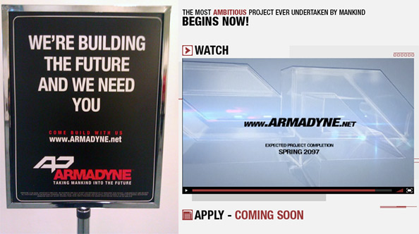 Armadyne Signs at Comic-Con