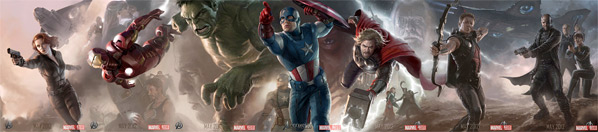 The Avengers Concept Art Poster