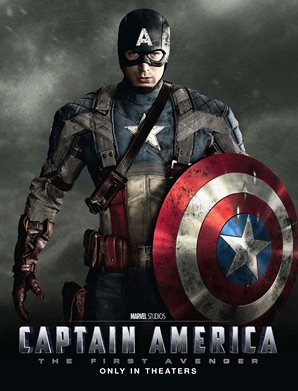 Captain America: The First Avenger - Captain America Poster
