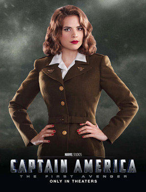 Captain America: The First Avenger - Peggy Carter Poster
