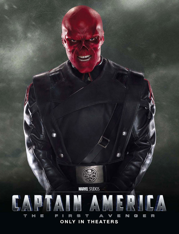 Captain America: The First Avenger - Red Skull Poster
