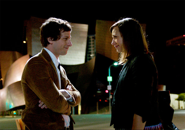 Rashida Jones & Andy Samberg in Celeste and Jesse Forever