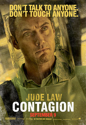 Contagion Character Poster - Jude Law