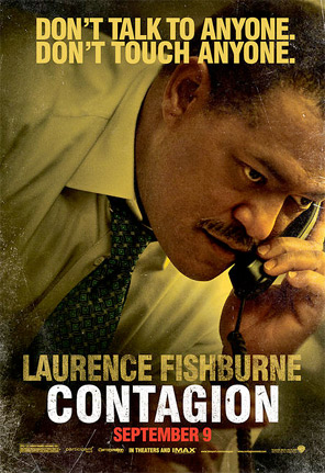 Contagion Character Poster - Laurence Fishburne