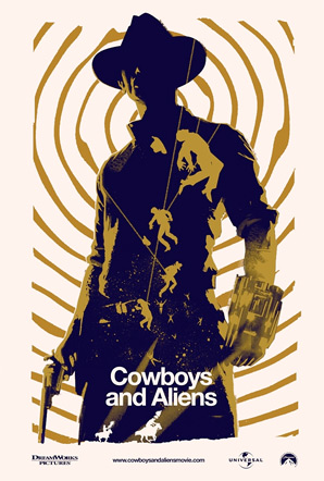 Cowboys & Aliens Fan Poster