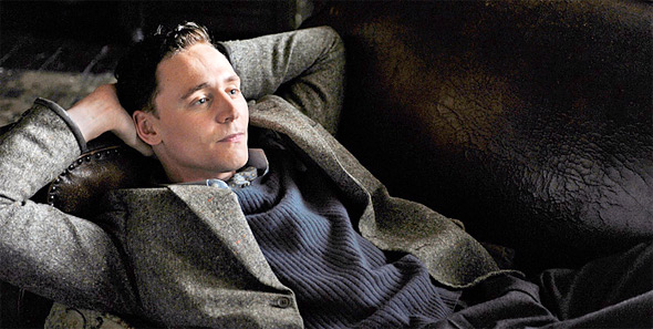 Tom Hiddleston in The Deep Blue Sea