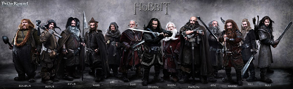 Company of Dwarves in The Hobbit
