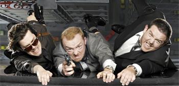 Edgar Wright, Simon Pegg & Nick Frost