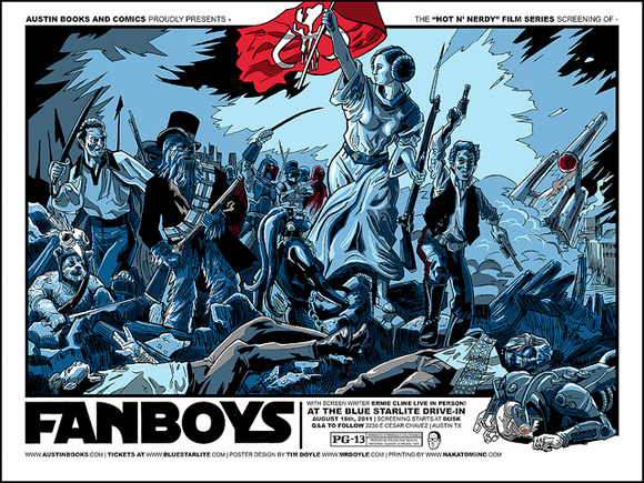 Tim Doyle's Fanboys Poster