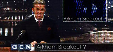 Gotham City News - Arkham Breakout?