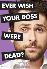 Horrible Bosses Poster - Charlie Day