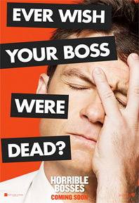 Horrible Bosses Poster - Jason Bateman