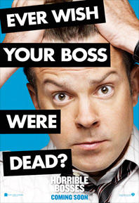 Horrible Bosses Poster - Jason Sudeikis