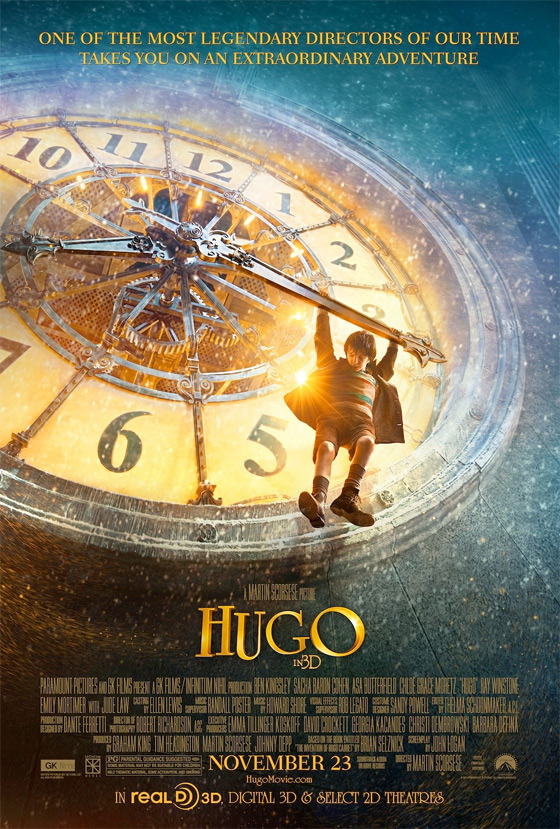 Martin Scorsese's Hugo Poster