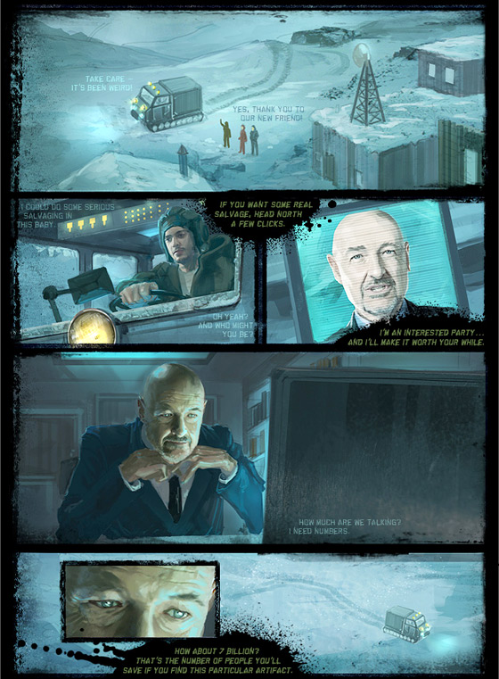 Human Preservation Project Comic Book Page