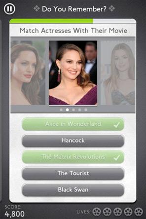IMDb Trivia App