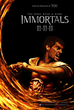 Immortals Poster - Theseus