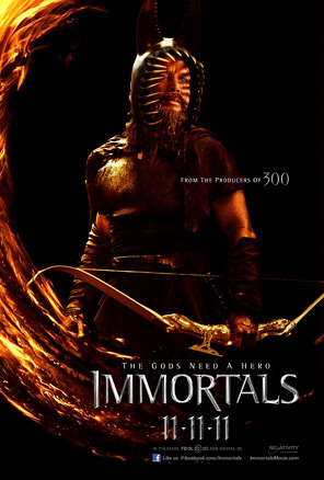 Immortals Poster - King Hyperion