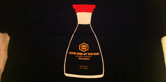 Don Coscarelli's John Dies at the End Soy Sauce T-Shirt