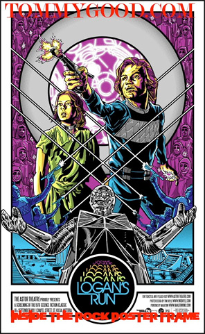 Tim Doyle's Logan's Run Poster