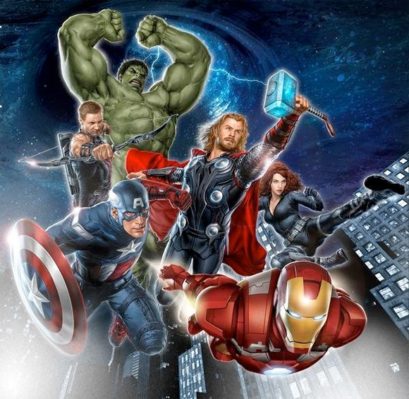 The Avengers Promo Poster