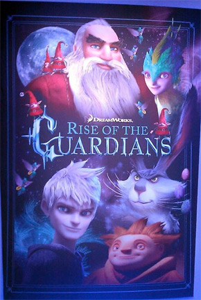 Rise of the Guardians Promo Poster