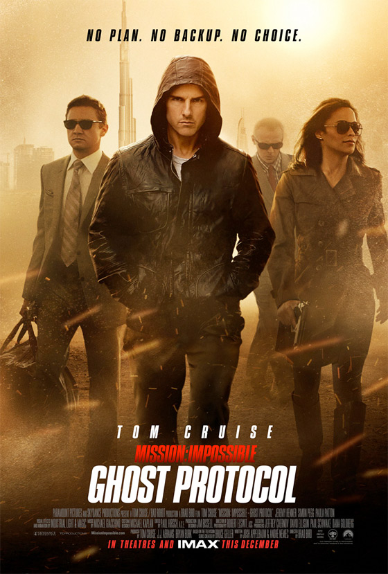 Mission: Impossible Ghost Protocol Poster