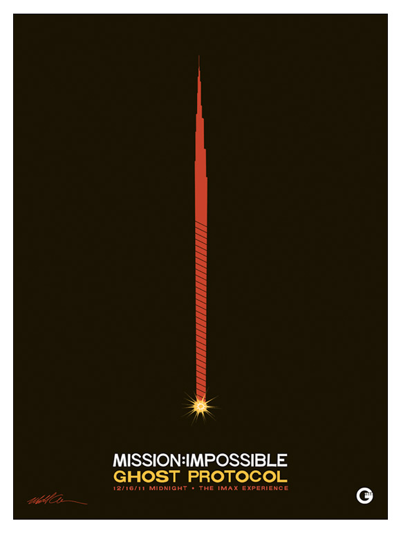 Mission: Impossible Ghost Protocol IMAX Poster