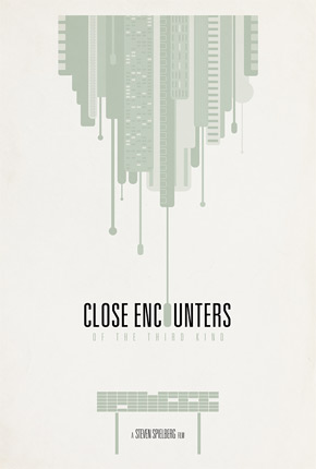 Brickhut Poster - Close Encounters of the Third Kind