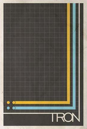 Brickhut Poster - Tron