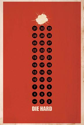 Brickhut Poster - Die Hard