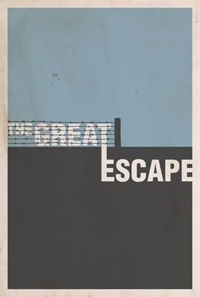 Brickhut Poster - The Great Escape