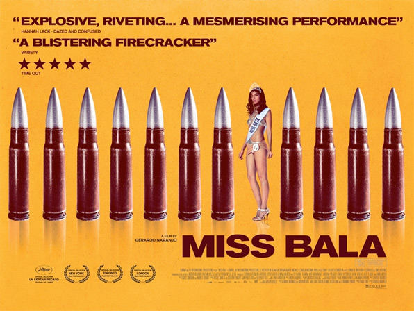 Miss Bala UK Quad Poster