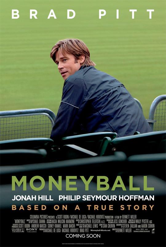 Brad Pitt's Moneyball Poster