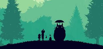 Olly Moss' My Neighbor Totoro