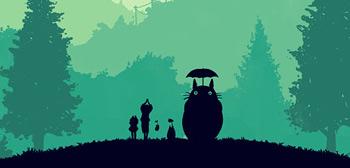 Olly Moss' My Neighbor Totoro