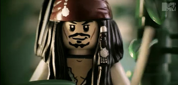 Pirates of the Caribbean: On Stranger Tides Lego