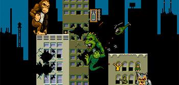 Rampage Video Game
