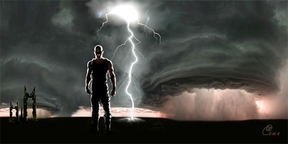 Riddick Sequel 2011 Concept Art