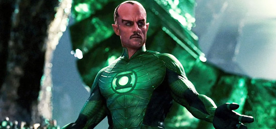 Mark Strong as Sinestro in Green Lantern