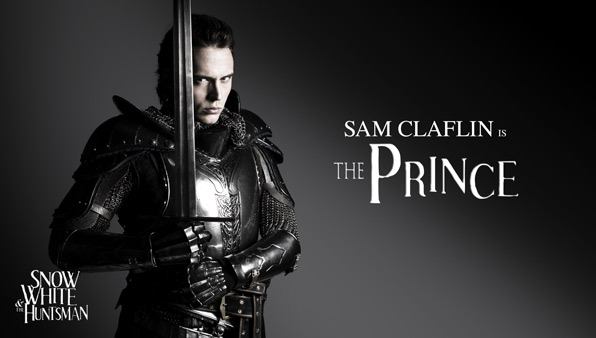 Sam Claflin is The Prince