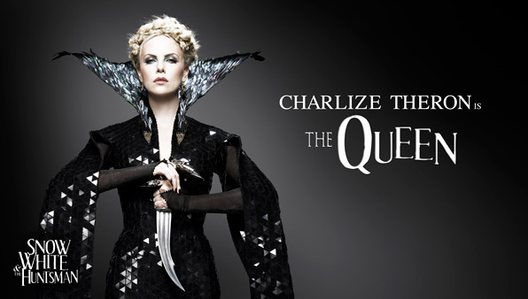 Charlize Theron is The Queen