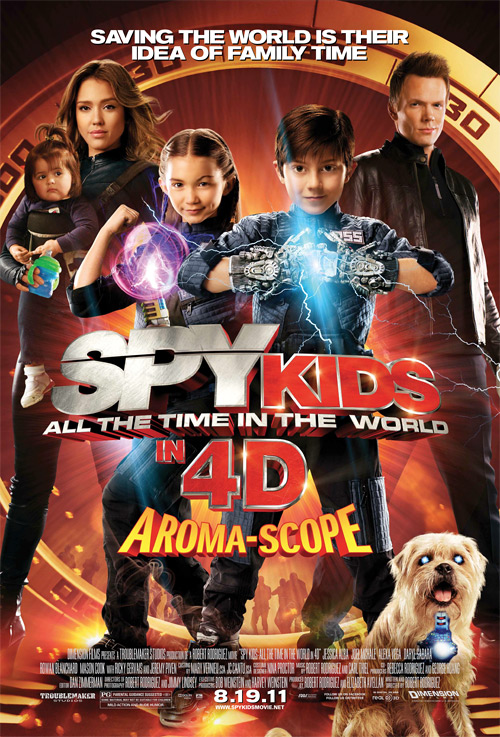Spy Kids: All the Time in the World Poster