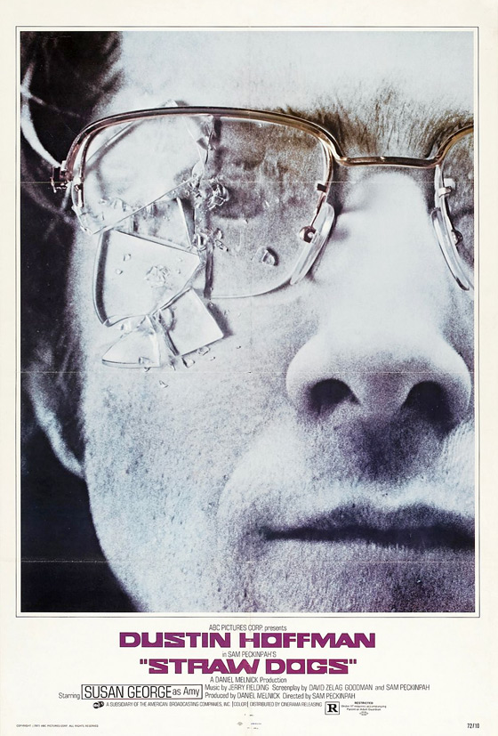 Original Straw Dogs Poster