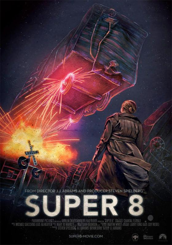 Super 8 - Unused Poster #2