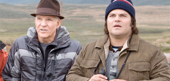 Steve Martin & Jack Black in The Big Year