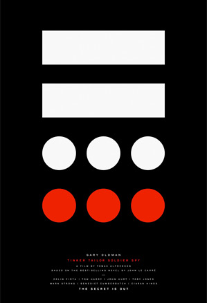 Sir Paul Smith's Tinker, Tailor, Soldier, Spy Minimalistic Poster